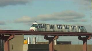 03/01/12 Newark Aeroporto com Monotrilho, vídeo 55