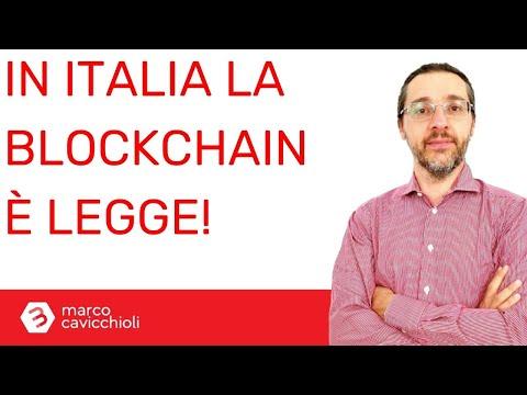Da oggi in Italia la blockchain è legge!
