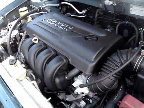 Toyota Corolla Seg Vvt I 1 8 2003 Youtube