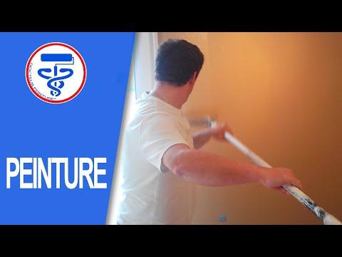 Tuto Comment Peindre Un Mur En Couleur Comme Un Pro  Youtube