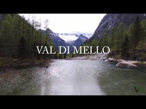 Val di Mello (SO) exploration with drone (bebop Parrot)