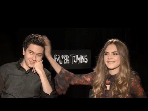 Cara Delevinge Cant Stop Flirting with Nat Wolff