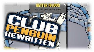Club Penguin Rewritten: November Furniture Catalog