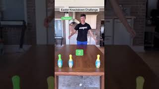 Family Easter Knockdown Challenge!!