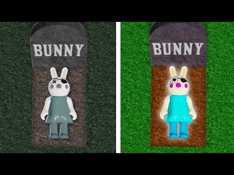 I Found a BUNNY FUNERAL ENDING in PIGGY in Roblox!