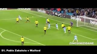 Manchester City - All 111 Goals 2016-2017 English Commentary