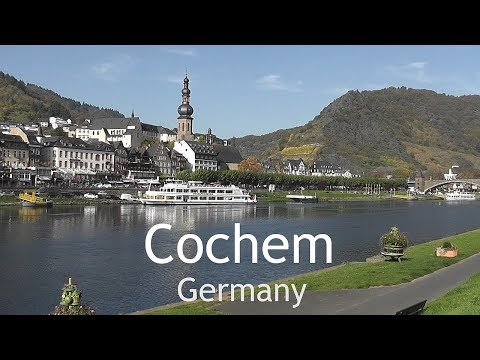 GERMANY: Cochem - town on the Moselle