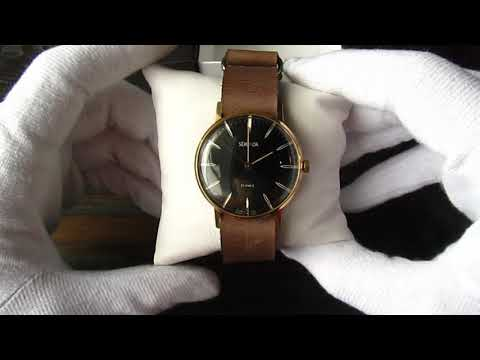 Sekonda Gold Plated Mens Wrist Watch