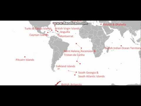 British Overseas Territories Video Map