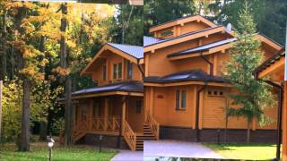 видео Проекты деревянных домов и проекты деревянных коттеджей в России
