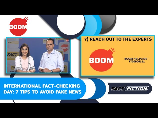 International Fact-Checking Day: 7 Tips To Avoid Fake News
