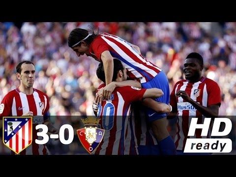 Download Atletico Madrid vs Osasuna 3-0 - All Goals and Highlights - La Liga (15/04/2017) HD