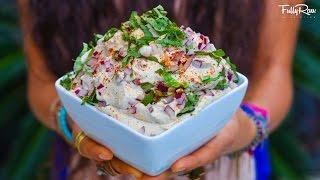 Easy & Delicious Raw Vegan Cream Cheese Recipe!