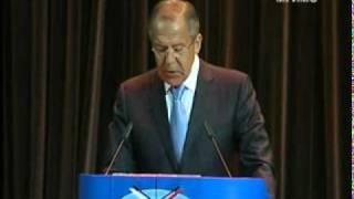 Сирия - Речь С.В.Лаврова 1 сентября 2011 г