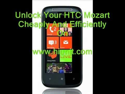 HTC Mozart Unlock Guaranteed !!!