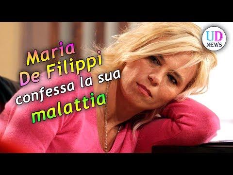Maria De Filippi confessa la sua malattia!