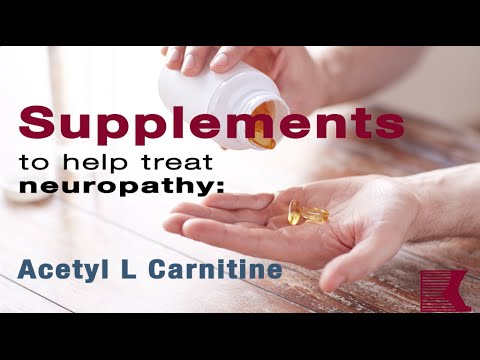 How Acetyl L Carnitine Helps Treat Neuropathy