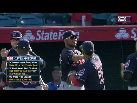 Another series, another sweep: Cleveland Indians continue to roll