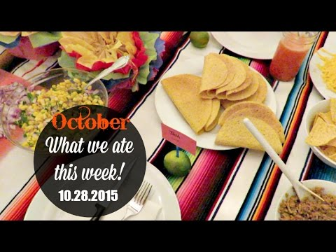 OUR YUMMY DINNERS ON A BUDGET! (10.28.2015)