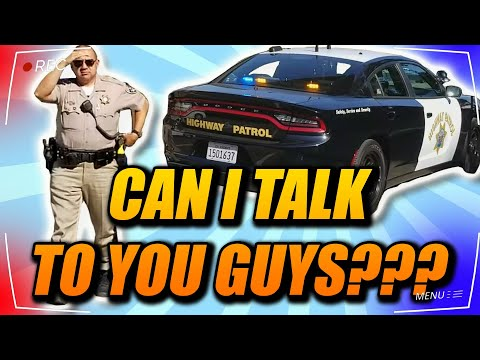 California Highway Patrol 1st amendment audit fail. with High Desert Community Watch
