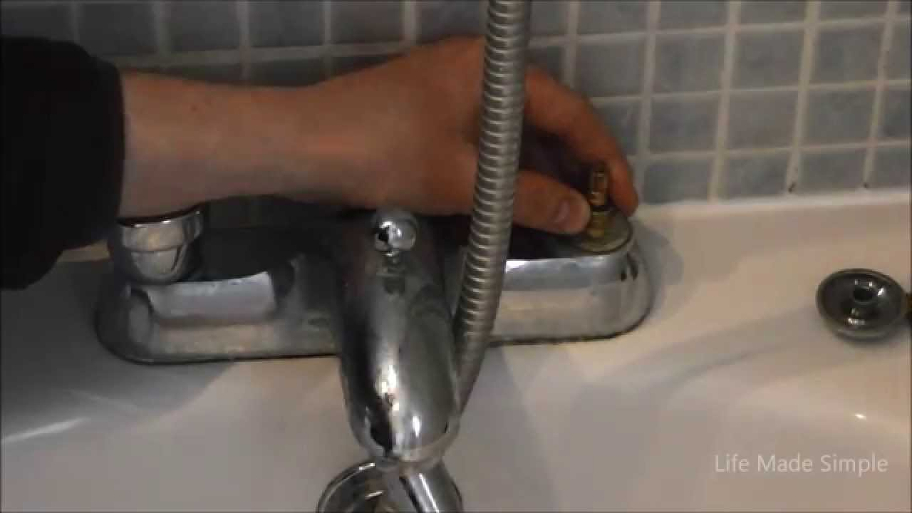 Fixing a bath tap - YouTube