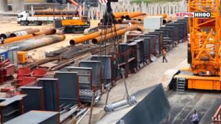 Грандиозность и масштабность арок керченского моста