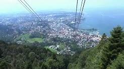 Der Pfänder in Bregenz (Pfänderbahn) Full HD - spektakuläre Aussicht