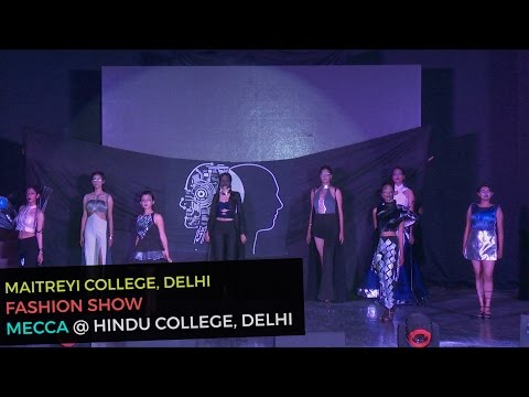 End of Humans Fashion Show by Maitreyi College Girls   Mecca 2016