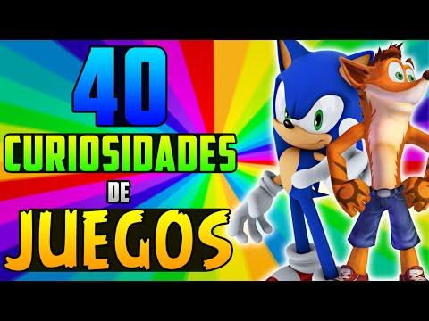 40 CURIOSIDADES DE LOS VIDEOJUEGOS