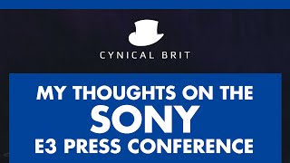 TotalBiscuit's Thoughts on the Sony E3 Conference