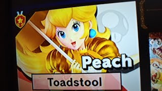 New) Peach classic mode run Starting at 1.0 intensity in Super Smash Bros Ultimate for Switch