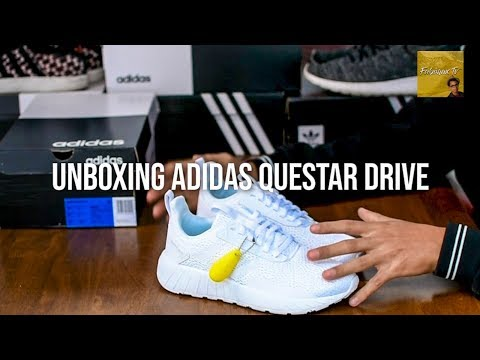 Alegrarse Glamour Posibilidades  UNBOXING ADIDAS QUESTAR DRIVE - Review Zapatillas adidas - YouTube