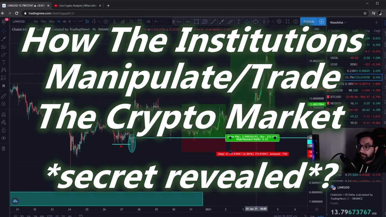 Institutional Concepts/Secrets In Crypto Market 2021