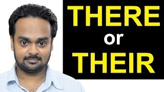 Correct Use of THERE, THEIR, THEY'RE | What's the Difference? | Commonly Confused Words