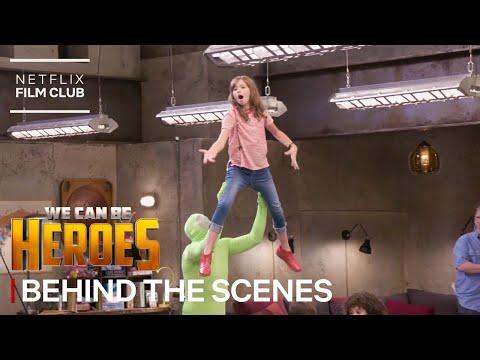 "Making Of ""Meet The Super Kids"" Scene   We Can Be Heroes   Netflix"