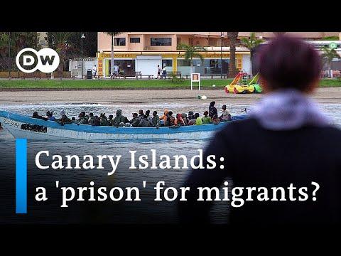 Court overturns Spanish island migration policy   DW News - Видео онлайн
