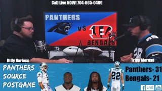 Panthers vs Bengals Week 3 Postgame Show- LIVE