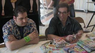 2009 Kids Comic Con / Joe Morciglio & Dan Parent /Archie Comics