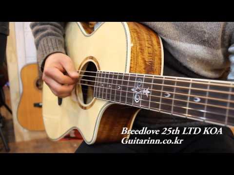 [Guitarinn] Breedlove Pursuit Concert 25th LTD KOA