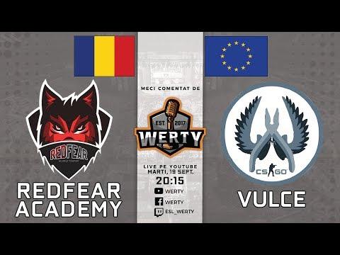 (RO CS:GO) REDFEAR ACADEMY (RO) vs. VULCE (EU) - LIGA CEVO