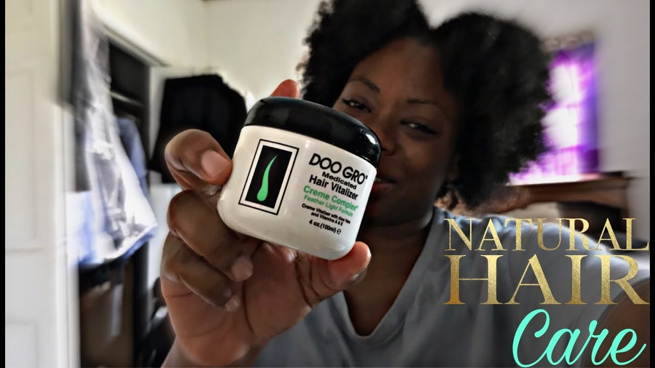 How I Moisturize My Natural Hair Under Wigs Doo Gro Vitalizer