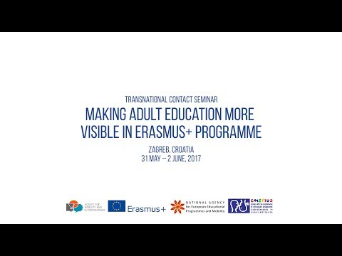 Making adult education more visible in Erasmus+ programme