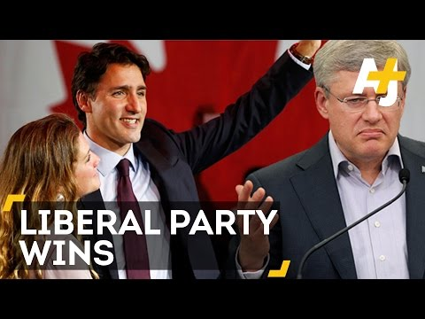 Canada Elects Liberal, Justin Trudeau, And Ousts Conservative, Stephen Harper