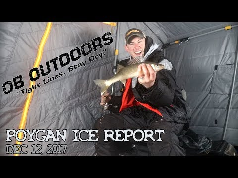 Lake Poyan Ice Report 12.16.17