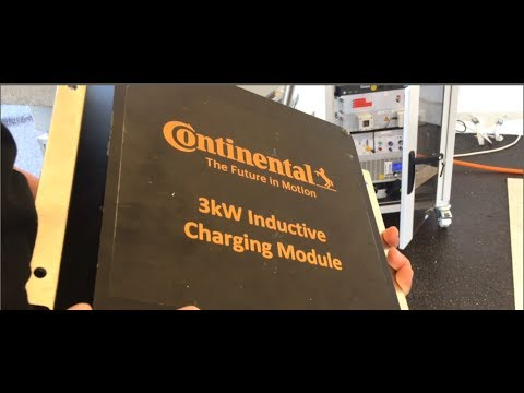 Continental AG  inductive charging components in the snow and dark can still work with Stephan Bartz