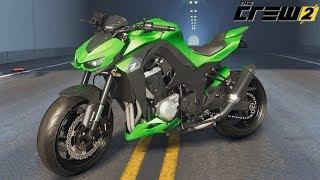The Crew 2 Kawasaki Z1000 Gameplay