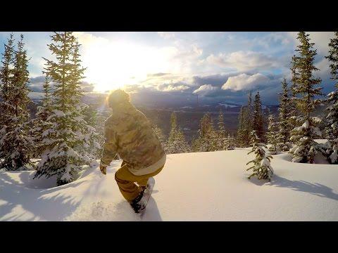 GoPro Snowboarding | Exploring the Backcountry (4K)