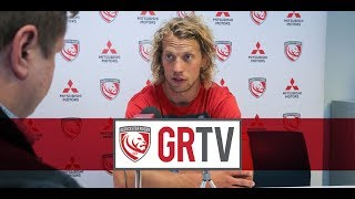 #GRTV | Twelvetrees says Saracens match is exciting but is being treated like just another game