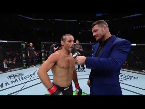 UFC Sacramento: Urijah Faber Octagon Interview