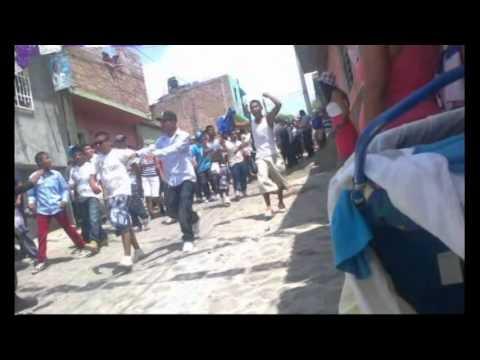 Jaral del Progreso pleito con la Policia